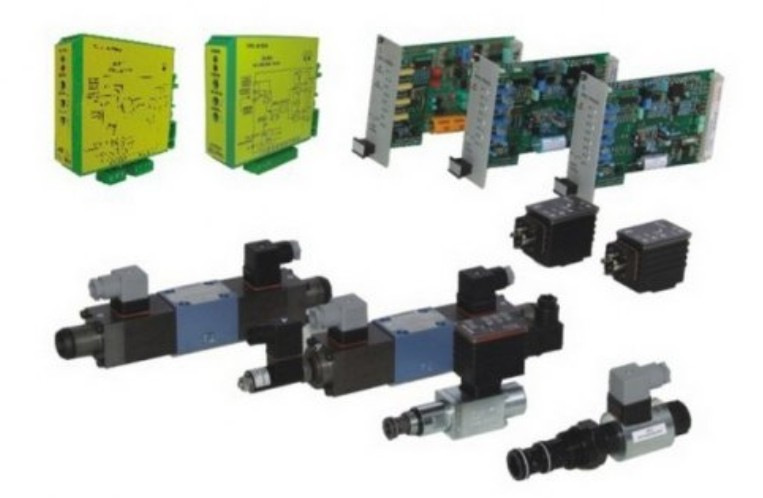 DISTRIBUITOARE SI SUPAPE HIDRAULICE ACTIONATE ELECTRIC-PROPORTIONAL-AMPLIFICATOARE DE SEMNAL